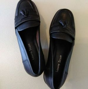 Laura Scott Leather Loafers